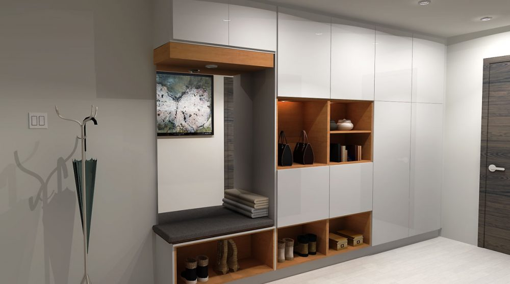IKEA Mudroom design