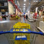 IKEA shopping cart