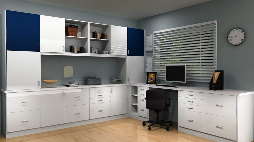 Using Ikea Cabinetry To Create Your Home Office
