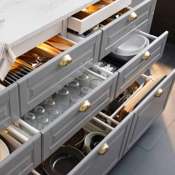 Ikea Kitchen And Budget, Movable Kitchen Cabinets Ikea