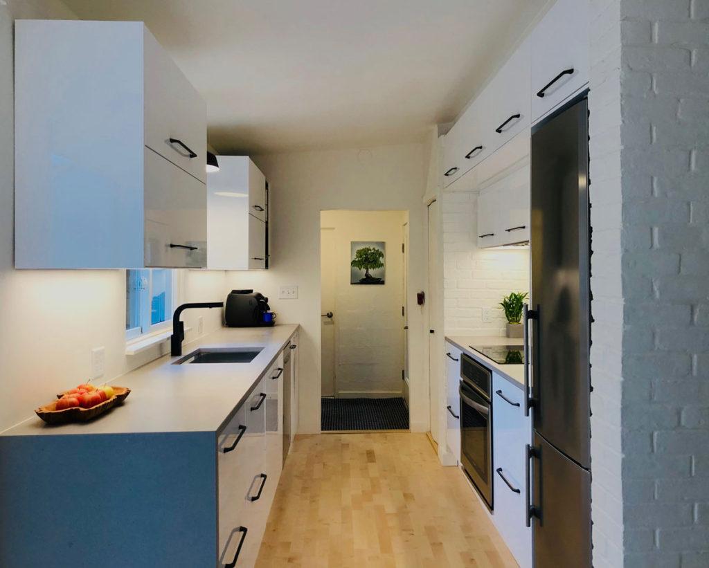 Ikea Kitchen Maximizes Space Style And Storage