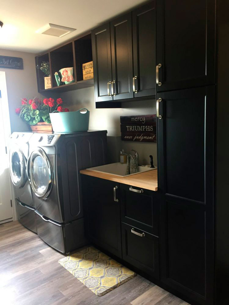 Storage Solutions For Your Ikea Laundry Room Mudroom