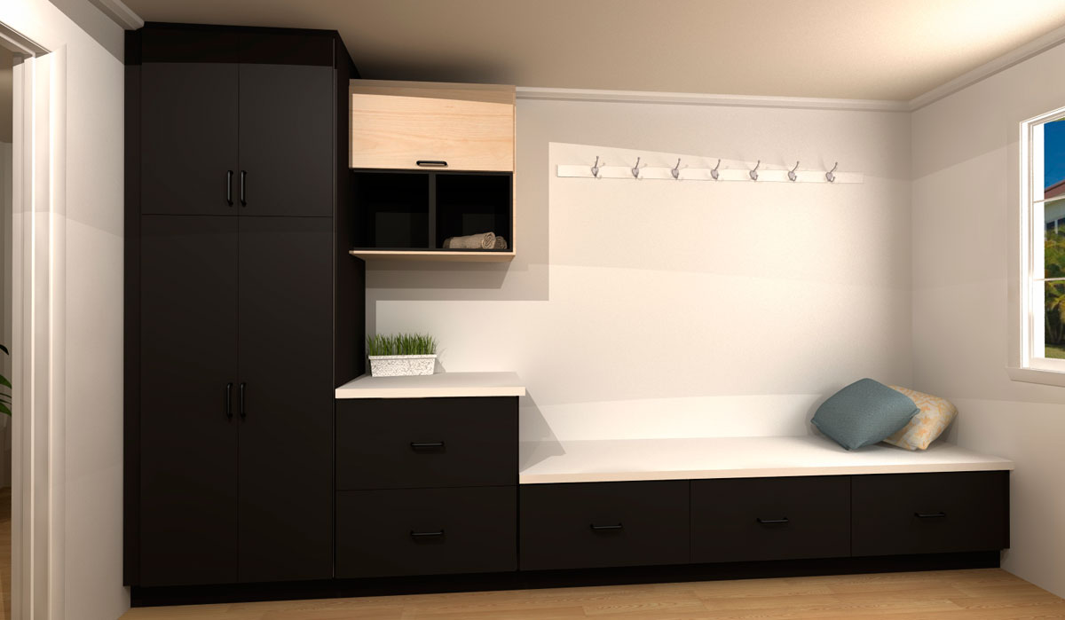Three Ikea Laundry Room Designs For Under 4000