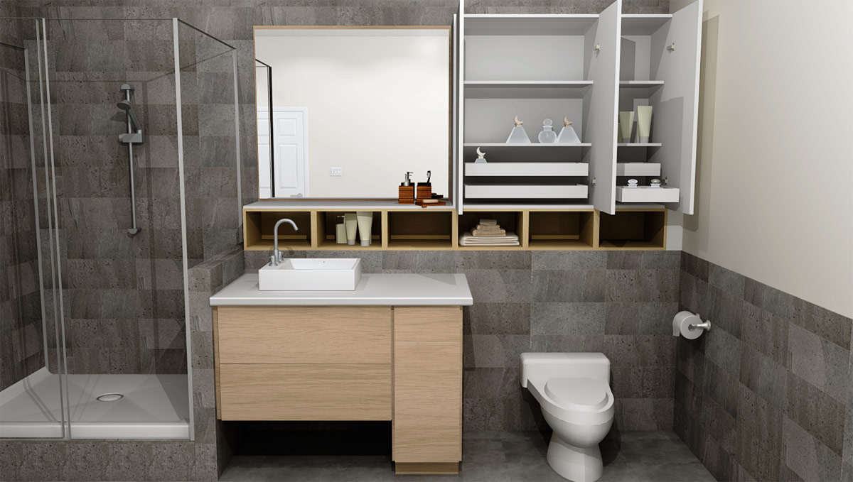 Designing Different Ikea Bathrooms With Ikea Sektion Cabinetry,Color Combination For Black And White