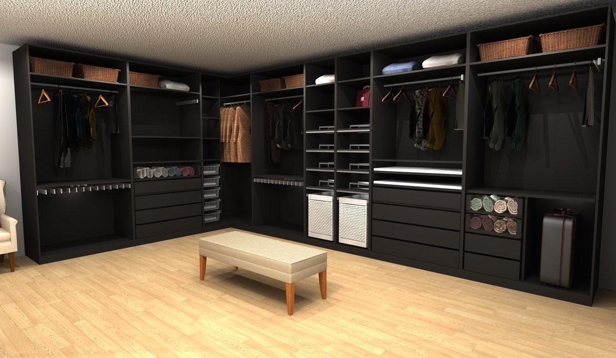 Three Ikea Pax Walk In Closet Designs Under 4 000