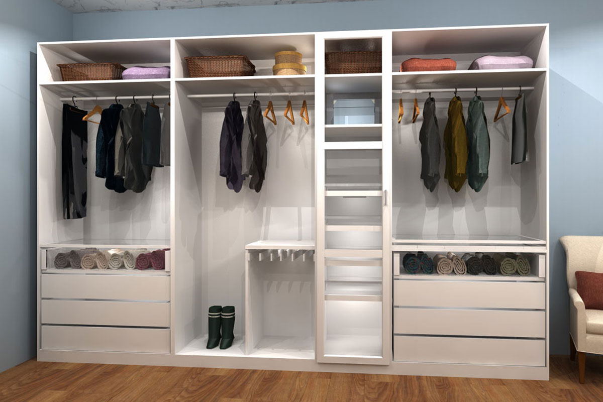 Get Inspired Three Ikea Closet Design Inspiration With Sharing Space