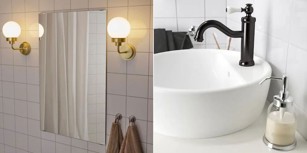 Lighting and Faucet