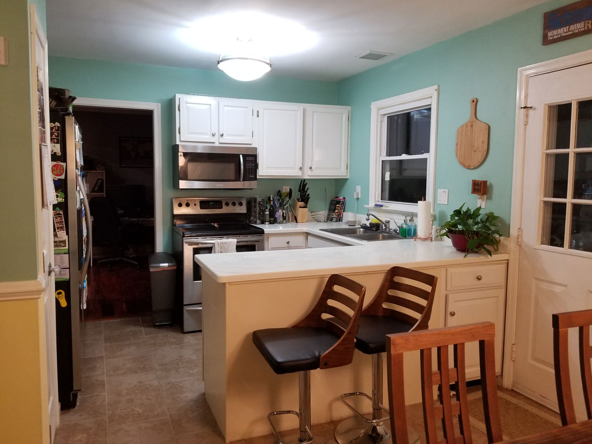 Before New Kitchen Remodel