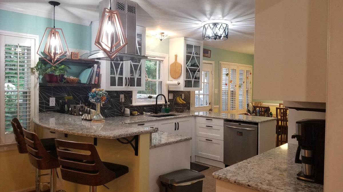 Large Kitchen Counter