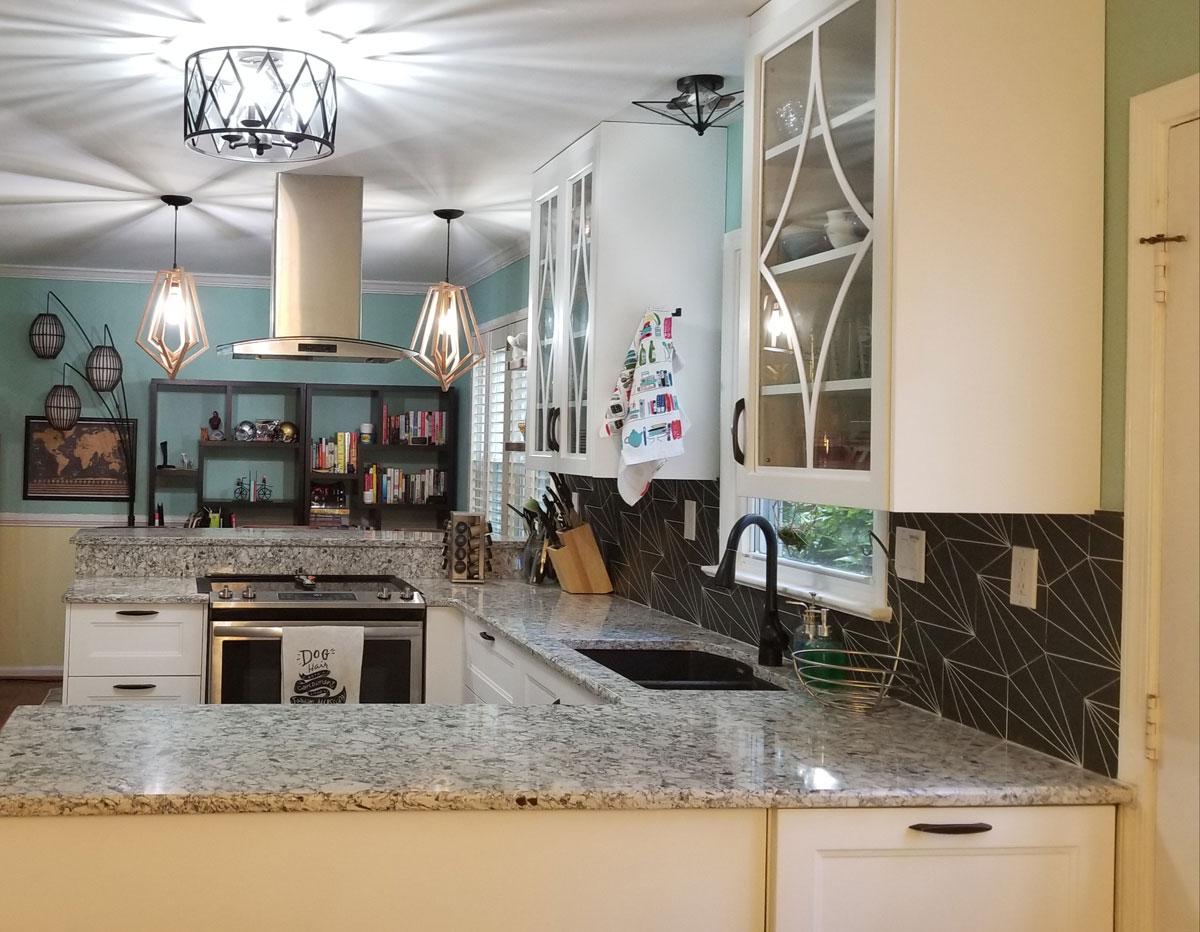 Beautiful redone kitchen