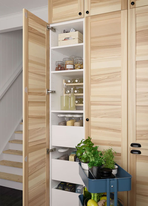 How To Customize Your Space With Ikea Organizers For Tall Cabinets