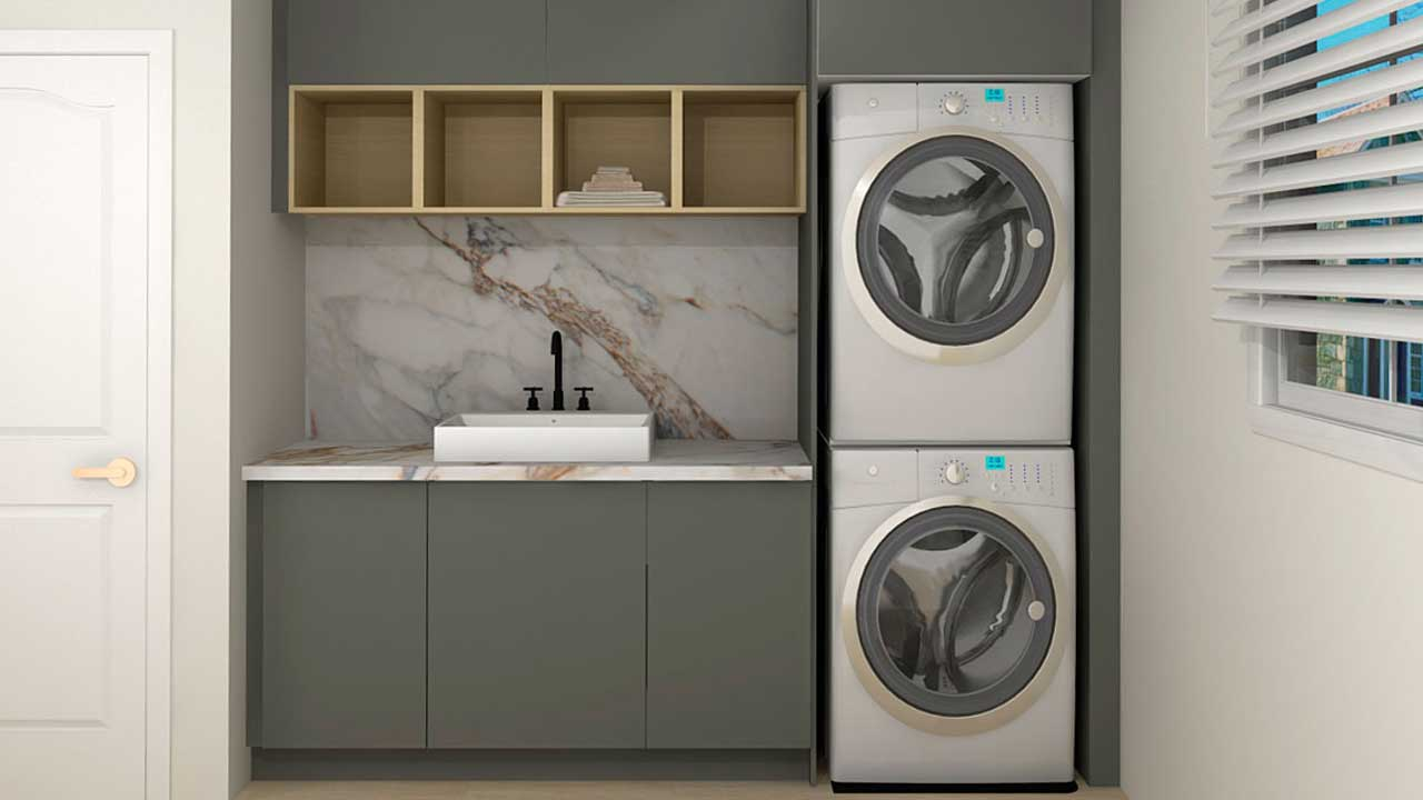 Storage Solutions for Your IKEA Laundry Room/Mudroom