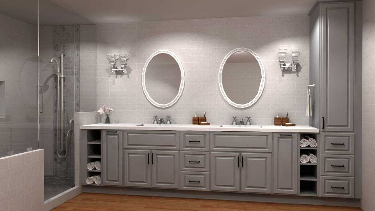 How To Design A High End Looking Bathroom With Ikea