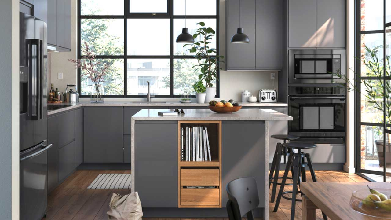 IKEA 20 Kitchens Catalog for Doorstyles, Appliances & Accessories
