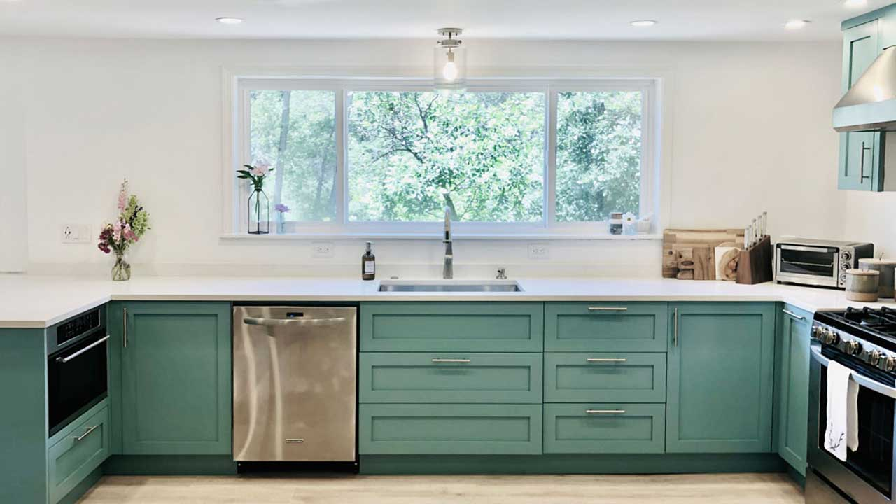 Customer Turns Ikea Kitchen Into The Bright Spot Of Her Home