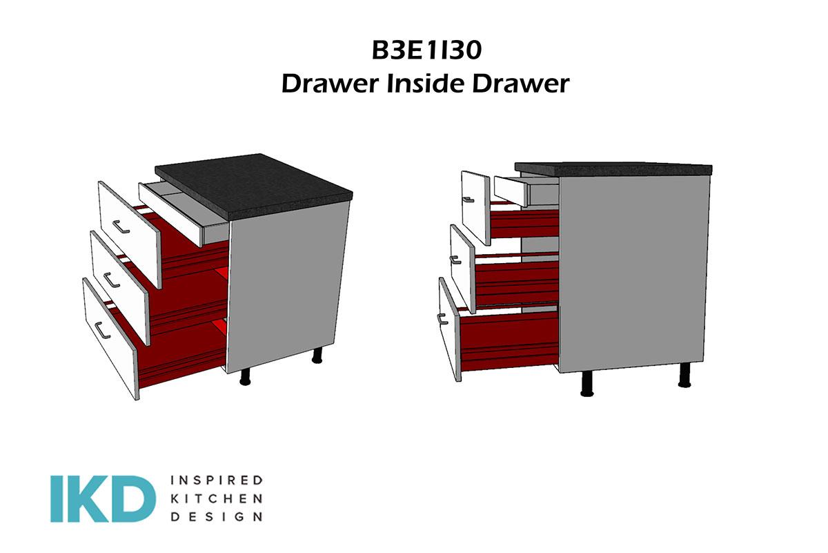 b3e1i30 Drawer in Drawer