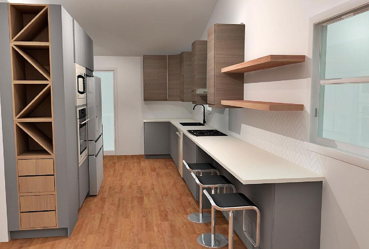 open storage ikea kitchen