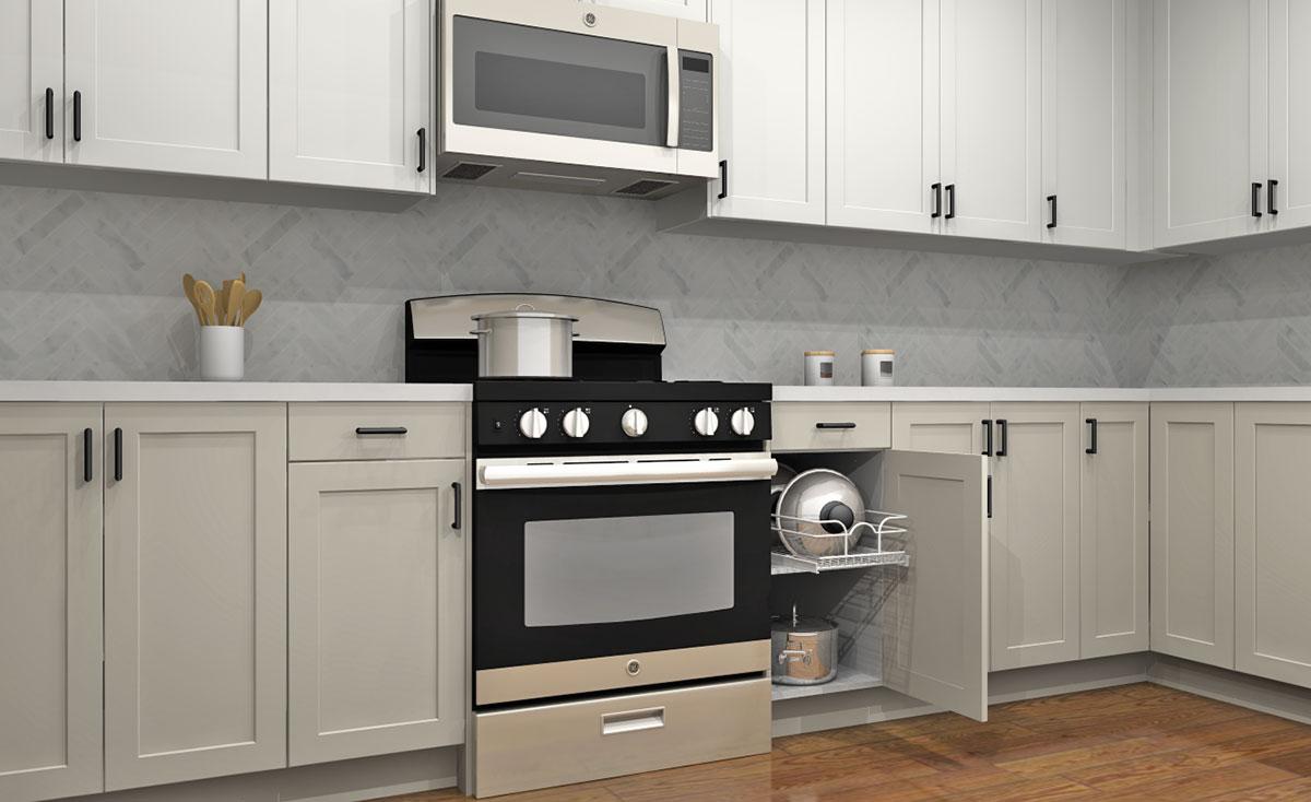 standard base cabinets