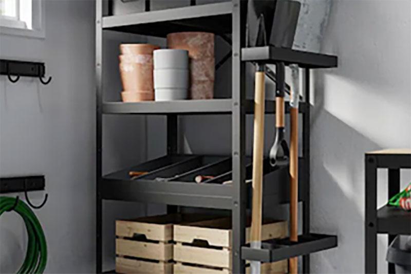 IKEA cabinets garage