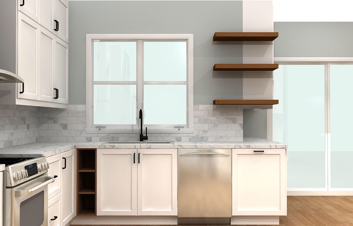 ikea kitchen dishwasher