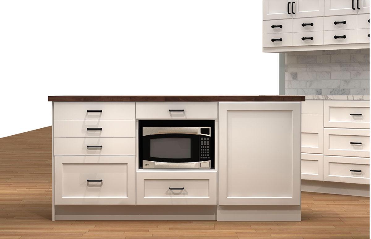 ikea kitchen microwave oven